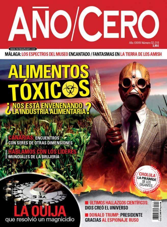 Articulo en AÑO/CERO sobre Canarias.