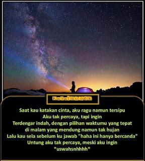 quotes gambar kata malam indah