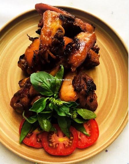 resep ayam, ayam bacem bakar, masakan rumahan, resep masakan