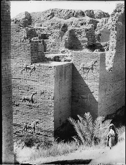 Fotografías de la antigua ciudad de Babilonia - 1932