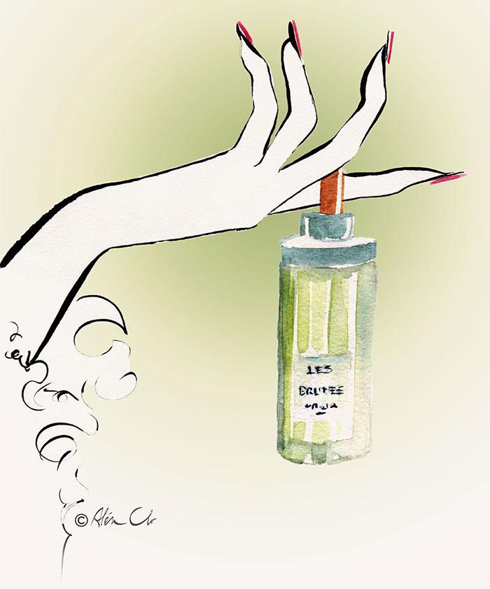 Perfume-in-hand