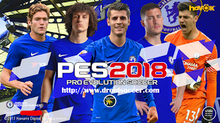 PES Mobile 2018 Mod Chelsea v3.8 by Minimumpatch Apk + Obb