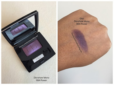 Diorshow Mono Eyeshadow 994 Power Swatch