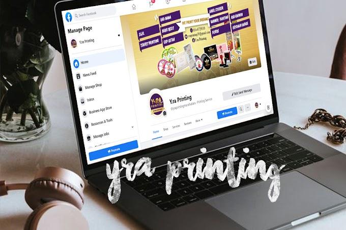 Y.ra Printing beroperasi seperti biasa | Banner & Bisnes Kad