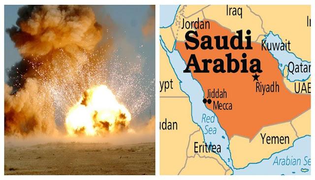 Ledakan di Riyadh Arab Saudi dan Dugaan Serangan Rudal