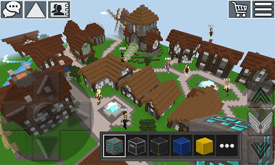 تحميل لعبة WorldCraft 3D Build & Craft v3.3.1 مهكرة