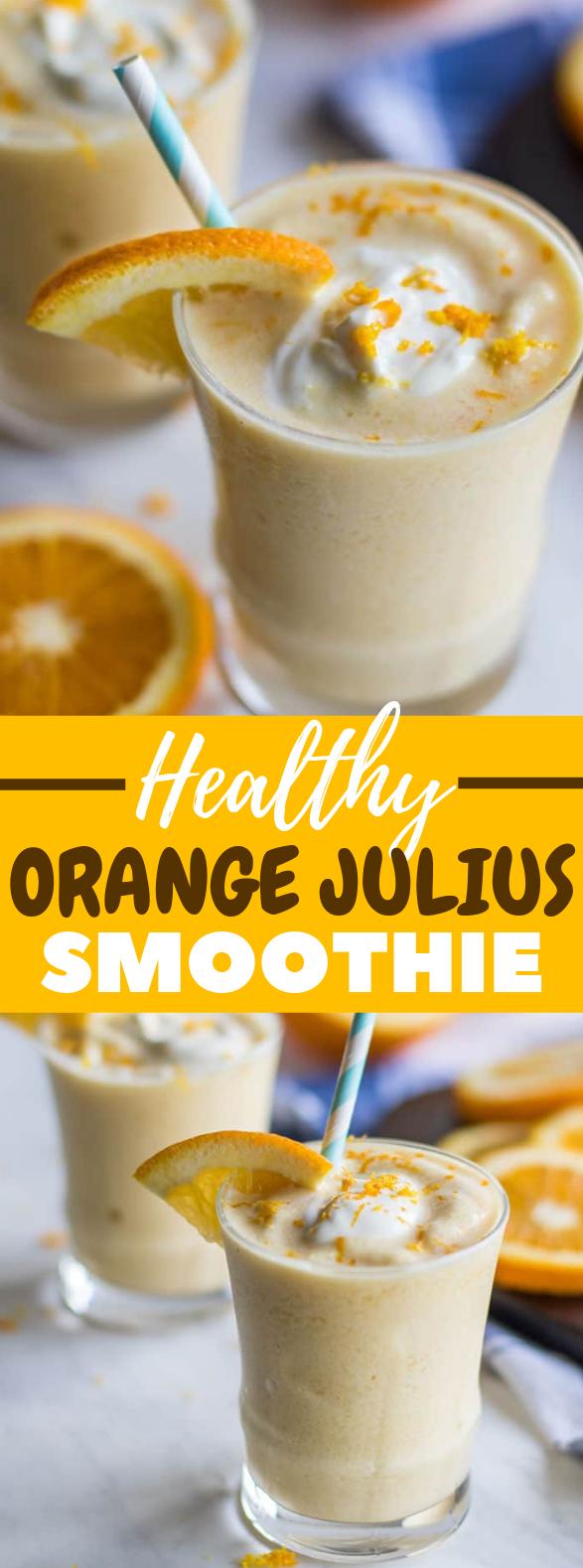 Healthy Orange Julius Smoothie #drink #healthydrink