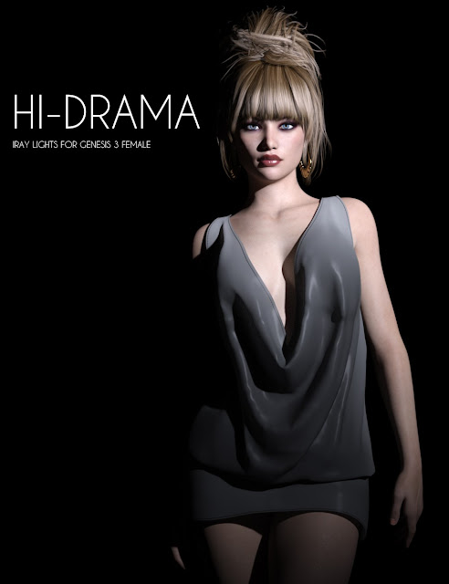 Hi-Drama Iray Lights