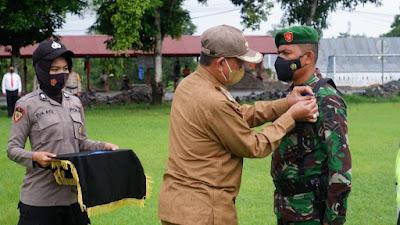 Gelar Pasukan Ops Patuh 2021, Bupati Wajo: Tingkatkan Kesadaran Berlalulintas dan Tekan Penyebaran Covid-19