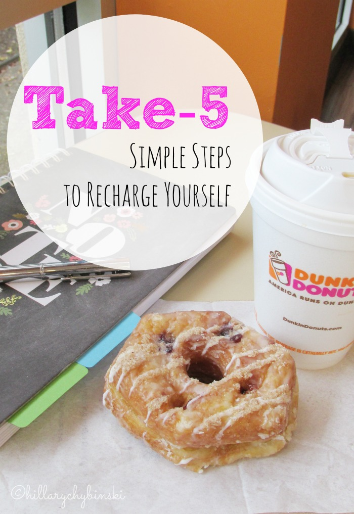 Ideas and Inspiration to help you recharge yourself and renew your inspiration and motivation
