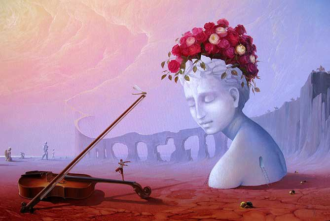 Victor Bregeda 1963 | Russian Surrealist painter