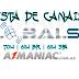 LISTA DE CANAIS PARA LINHA GLOBALSAT 70W   61W BR   61W SPA - 01/07/2016