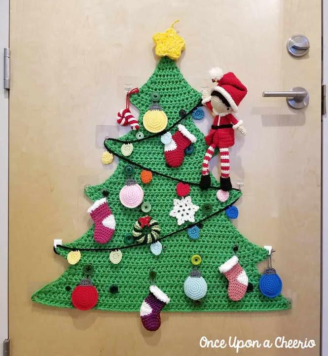 Crochet Christmas Tree Project