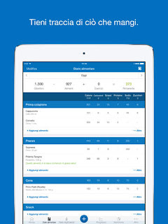 Contatore calorie e Gestione dieta - MyFitnessPal vers 7.6.3