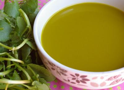 Sopa Refrescante de Agrião (vegana)