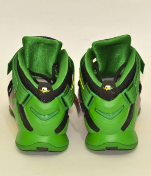 3c045bd3d837 Today we spotted pairs of the Nike Lebron Soldier 9 Ohio State HERE