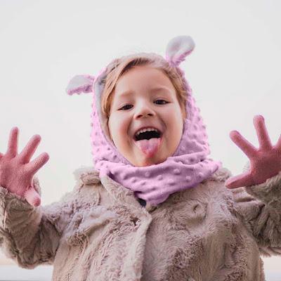 otitis bebés y niños qué es cómo protegerlos del frío prevenir otitis oídos gorro bufanda infantil mimuselina capuchoso