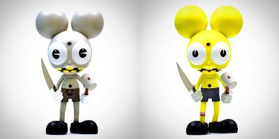 Coming Soon: 3 New Space Monkey Vinyl Figure Colorways by Dalek x UVD Toys
