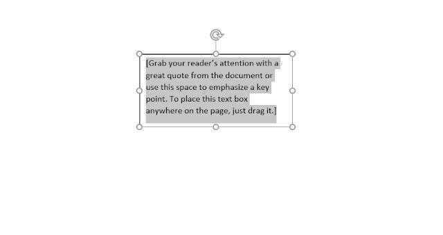 Tutorial Membuat Text Box di Word