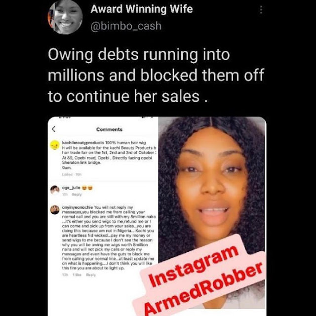 Give Me My Money Kachi:Angry Customer storms at Actress Ireti Doyle Daughter's Stall for Owing Her N200K  (Video)