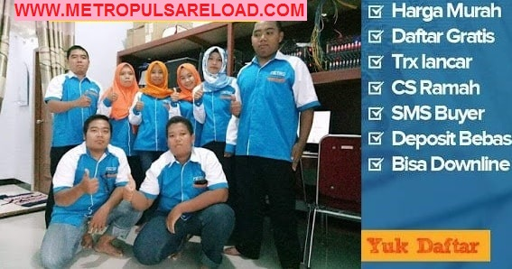 M Reload Pulsa, Agen Server Pulsa Android