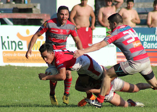 Marcos Ozu sumando un nuevo try para el Jockey de Salta #RegionalDelNOA