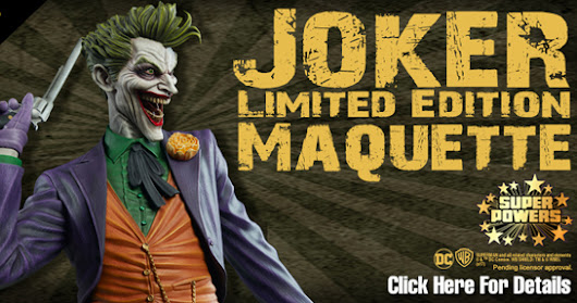 Batman - Joker Maquette Super Powers Maquettes nº 5 1/6 (Tweeterhead)