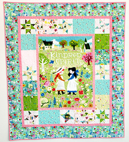 Kindred Spirits Quilt designed by Jill Howarth for Riley Blake Designs, featuring Kindred Spirits  Collection