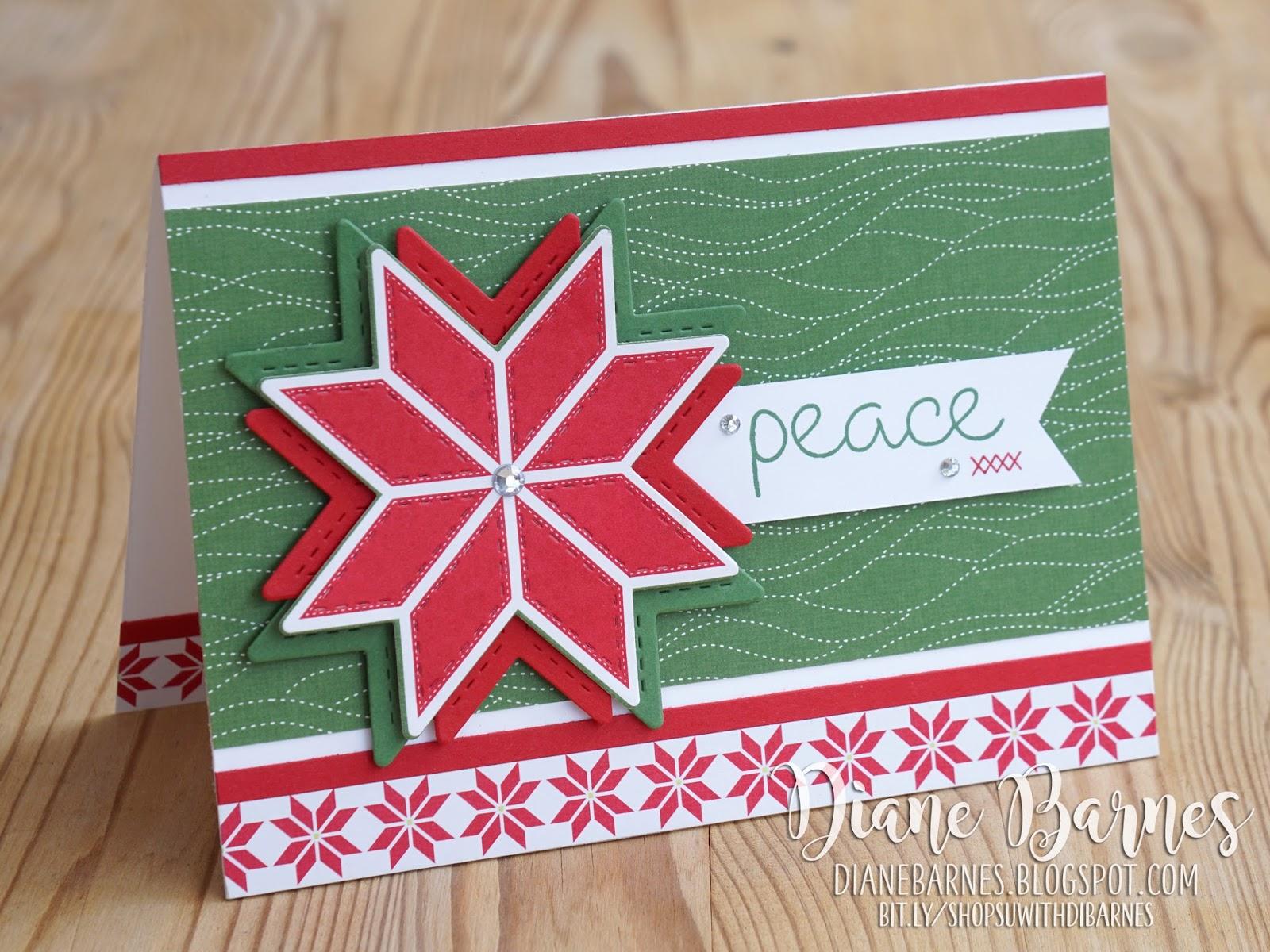 Colour Me Happy Christmas Quilt Card Trio