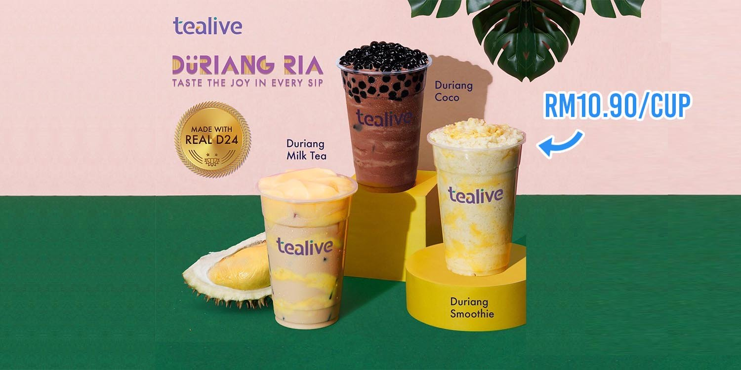 tealive durian