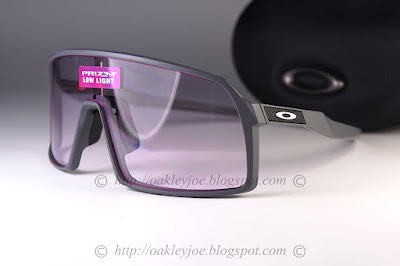 dfe4e000474 matte dark grey + prizm low light  225 lens pre coated with Oakley  hydrophobic nano solution complete package comes with box and microfiber  pouch