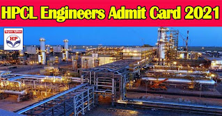 HPCL Engineer Admit Card 2021