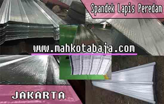 Harga Atap Spandek Lapis peredam Jakarta