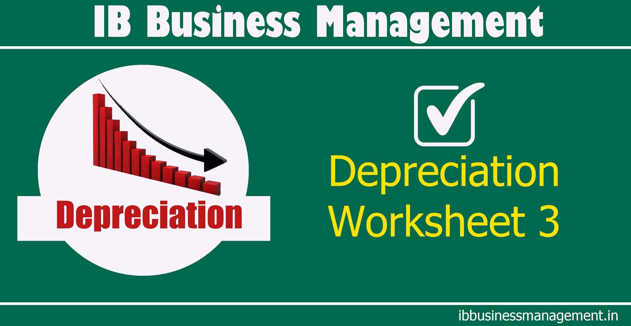Business management worksheet