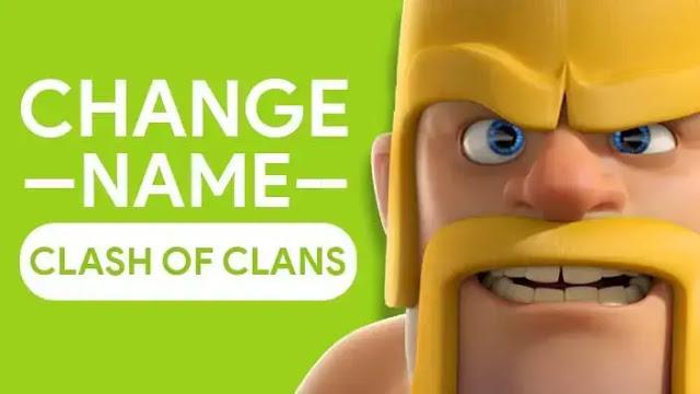 Cara Mengubah Nama Di Clash Of Clans