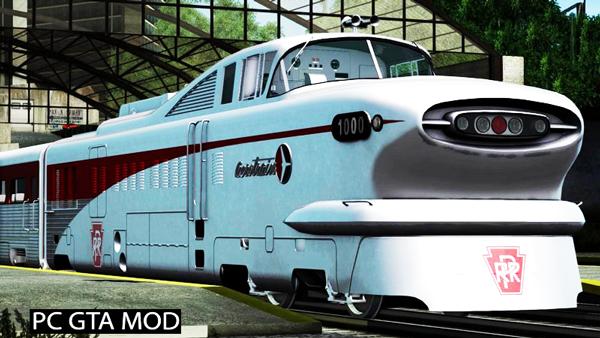 Free Download General Motors Aerotrain 1956 Mod for GTA San Andreas.