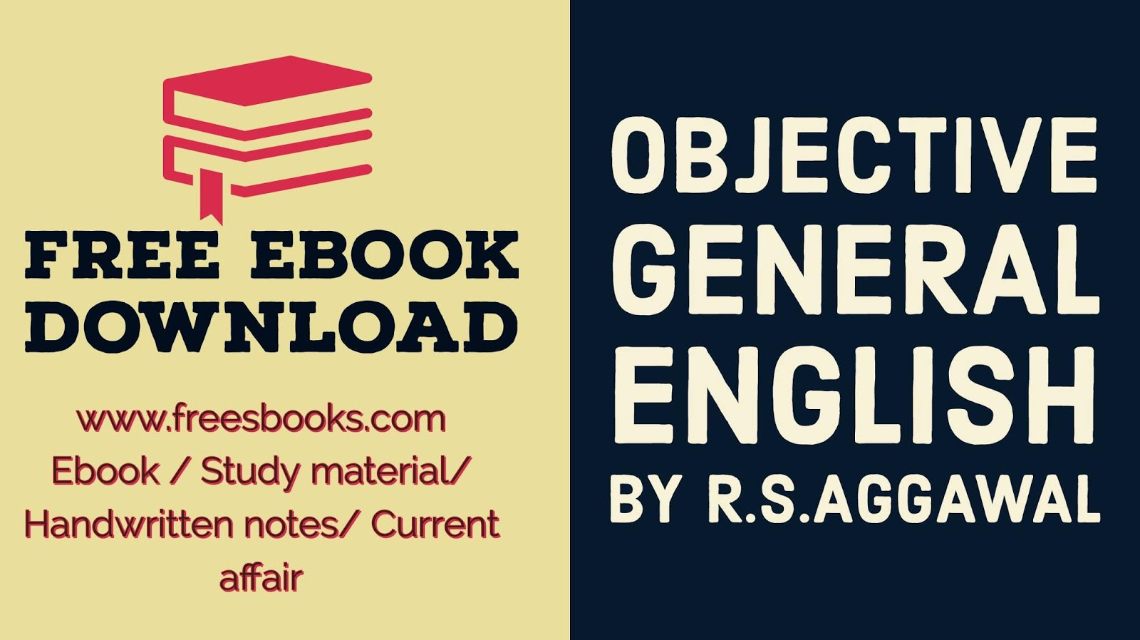 Free ebook download: ENGLISH