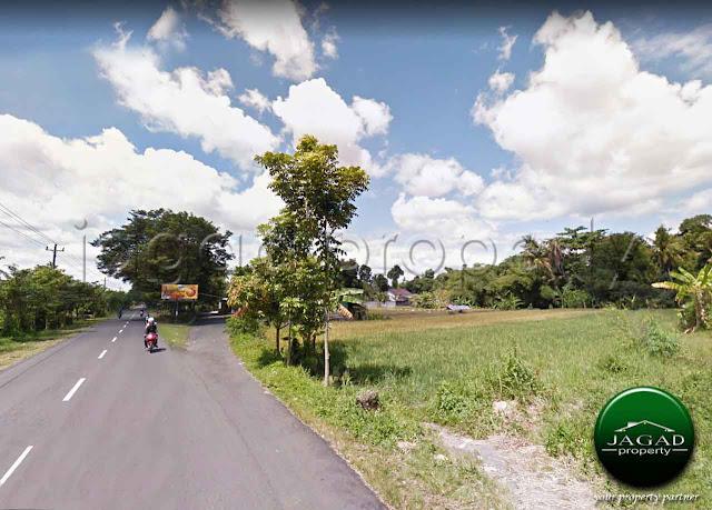 Tanah Tepi jalan Purbaya dekat Pemda Sleman