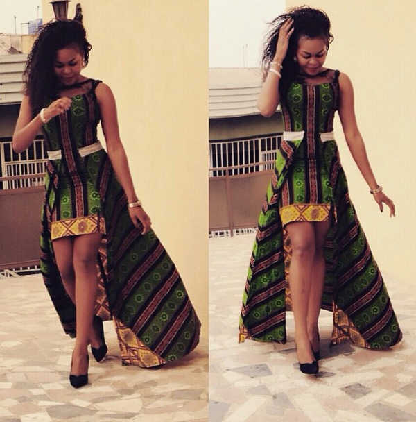 ankara long gown styles