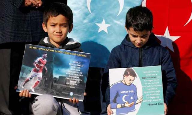 Media China: Pernyataan Mesut Ozil soal Muslim Uighur Bisa Berdampak Serius