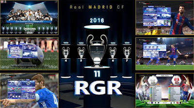 PES 2013 Real Madrid Graphic Menu 2017 by Rgr DS