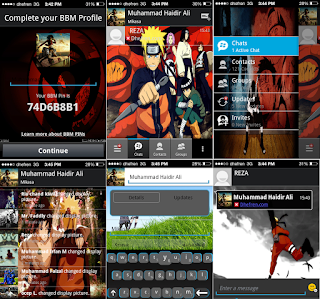 BBM Naruto for Gingerbread