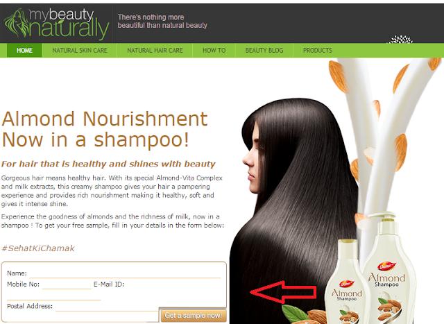 Freebie : Almond Nourishment Shampoo _frickspanel