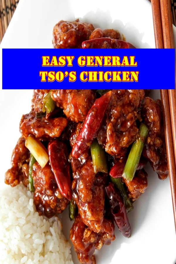 #Easy #General #Tso's #Chicken