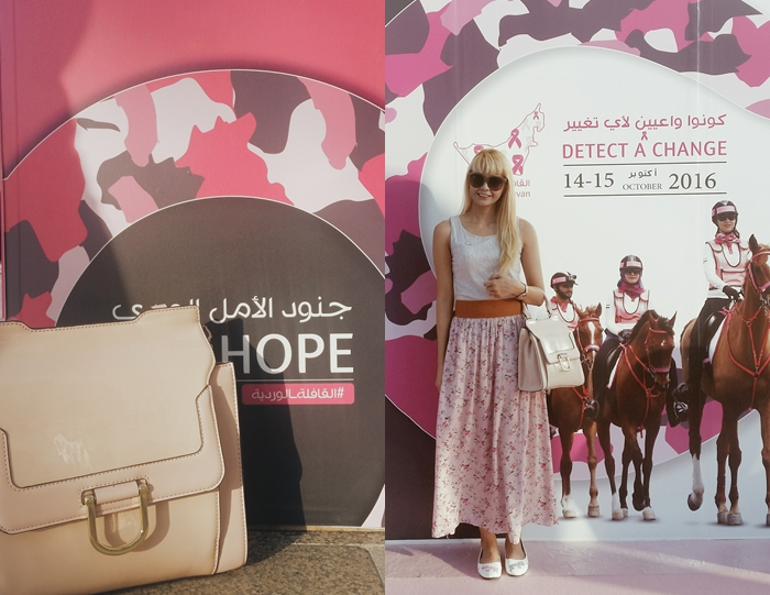 Pink October Dubai blogger