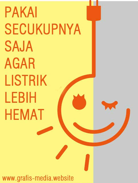 Contoh Poster Slogan Contoh Poster Hemat Listrik