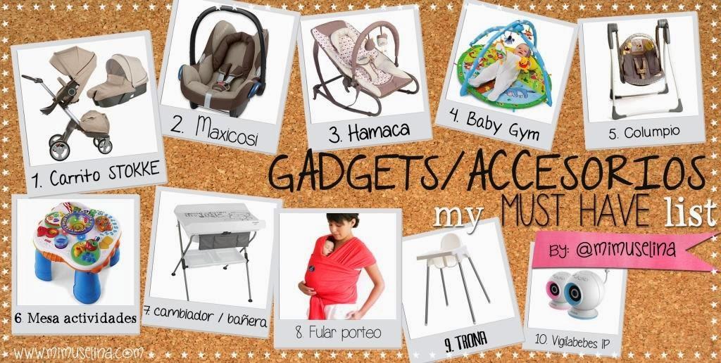 gadgets accesorios bebe trastos bebe