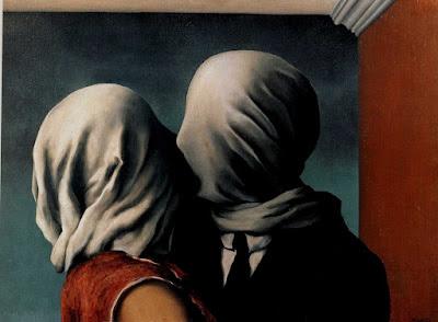 «Οι εραστές» του Rene Magritte