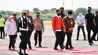 Kapolda Jateng dan Pangdam IV Diponegoro Temani Presiden Jokowi Melihat Progres Bandara JB Soedirman