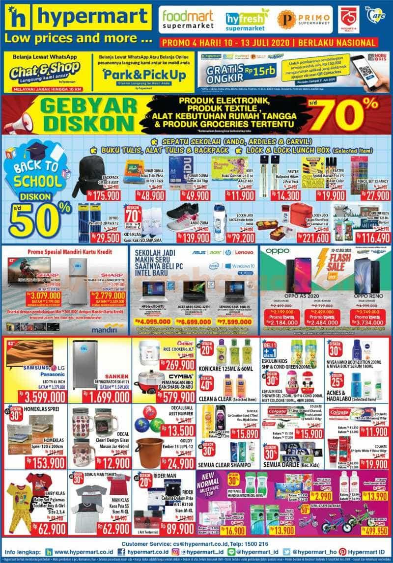 Katalog Promo Hypermart Weekend 10 - 13 Juli 2020